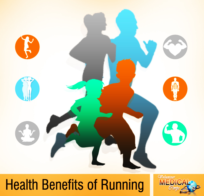 6 HEALTH BENEFITS OF RUNNING