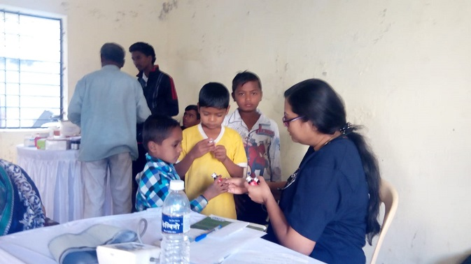 EXTENDING HOPE TO SIDDHARTH NAGAR SLUM IN INDIA