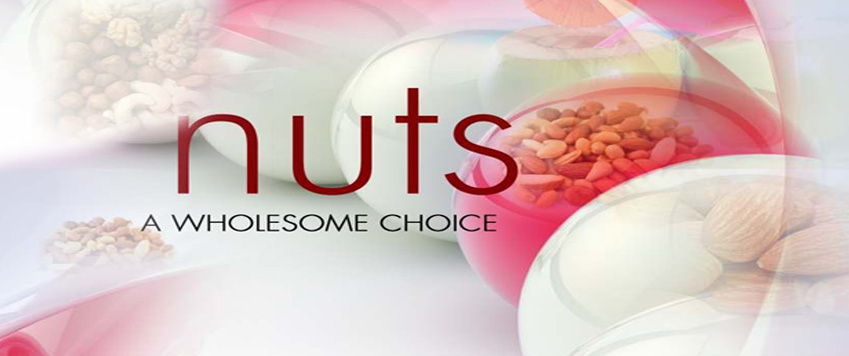 Nuts – A wholesome healthy snack